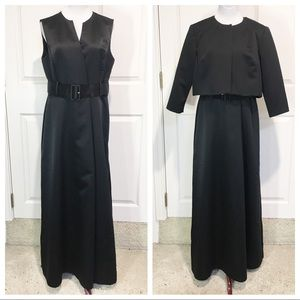 Talbots gown and jacket